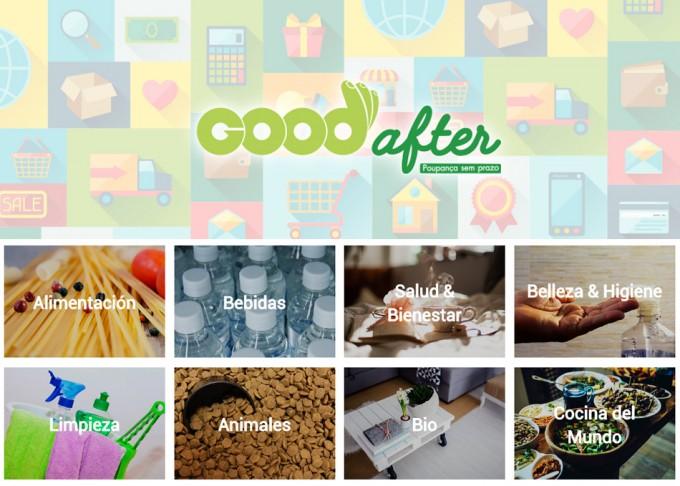 Supermercado GoodAfter, venta online de productos próximos a caducar
